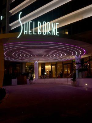 Miami Art Deco District Neon Night Photos