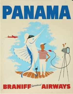Vintage airline posters: the golden age of air travel