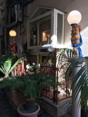 En las calles de una hermosa Napoli