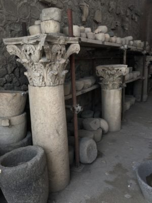 Archaeological site of the remains of the iconic Roman city preserved by Vesuvius' ash.