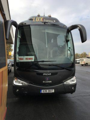 Vilnus To Rigga by Bus
