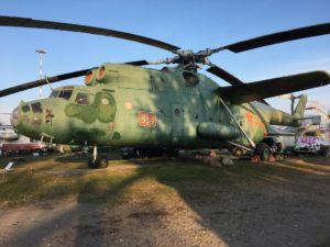 Military Soviet Helicopter Mi 6 Aircraft Museum